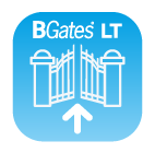BGates is available for iOS and Android devices, download it now