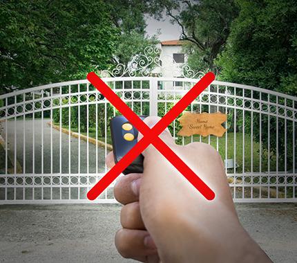 BGates,apri il cancello senza telecomando